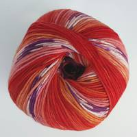 Dolce Amore 4ply Cotton- Chilli Print