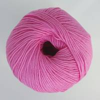 Dolce Amore 4ply Cotton- Flamingo