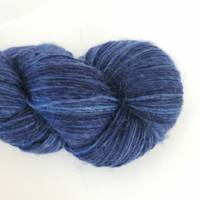 Ashton Merino Sock Singles - Blue