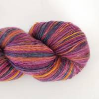 Ashton Merino Sock Singles - Purple