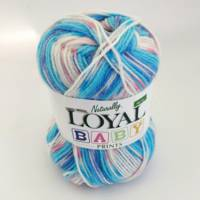Loyal 4ply Baby Print - Ariel