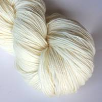 Naked White Gum Wool 8ply - 5 x 100gm