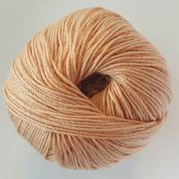 Luxury 100% Silk 4ply - Apricot