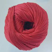 Luxury 100% Silk 4ply - Poppy