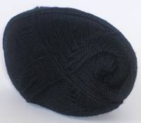 Merino Soft Black 4ply