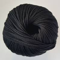 Luxury 100% Silk 4ply - Ebony